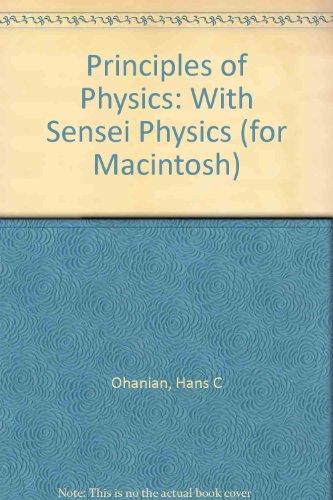 9780393965759: Principles of Physics: With Sensei Physics (for Macintosh)