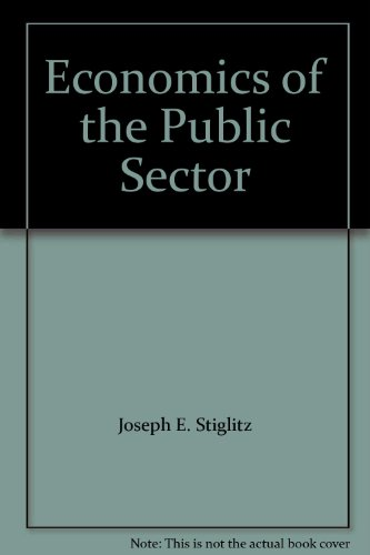 9780393966527: Economics of the Public Sector: Study Guide