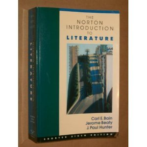 9780393966664: The Norton Introduction to Literature
