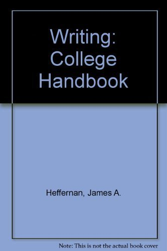9780393967418: Writing: College Handbook