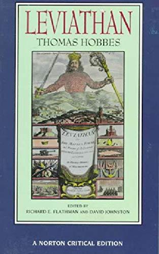 9780393967982: Leviathan (Norton Critical Editions)