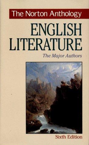 9780393968033: The Norton Anthology of English Literature: The Major Authors