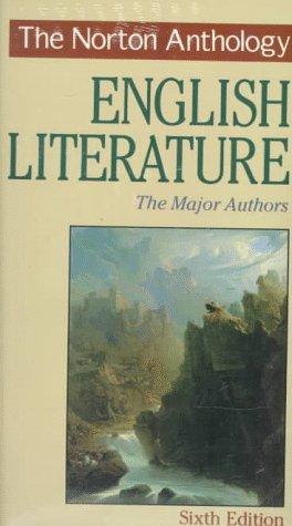 9780393968088: The Norton Anthology of English Literature: The Major Authors