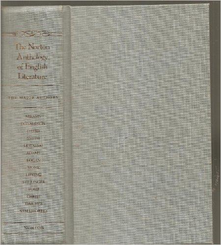 9780393968095: The Norton Anthology of English Literature