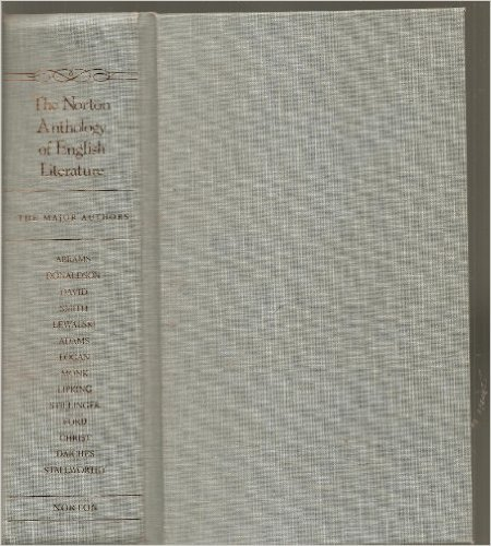 9780393968095: The Norton Anthology of English Literature