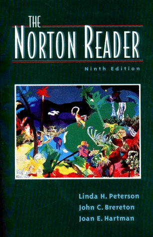 9780393968262: The Norton Reader: An Anthology of Expository Prose
