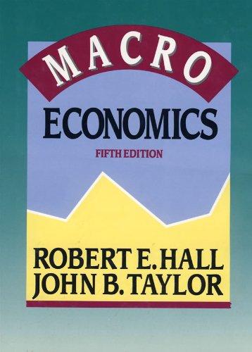 Macroeconomics fifth edition.