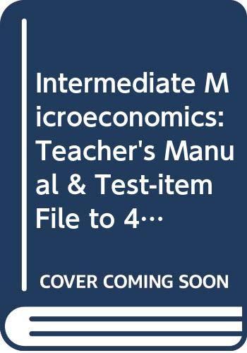 9780393968446: Intermediate Microeconomics