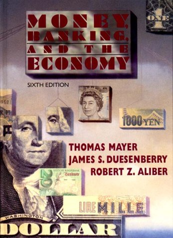 9780393968484: Money, Banking, & the Economy