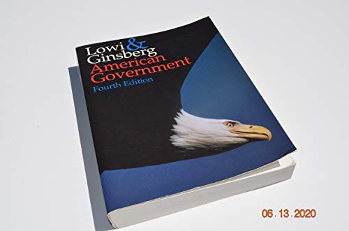 9780393968583: American Government: Freedom and Power