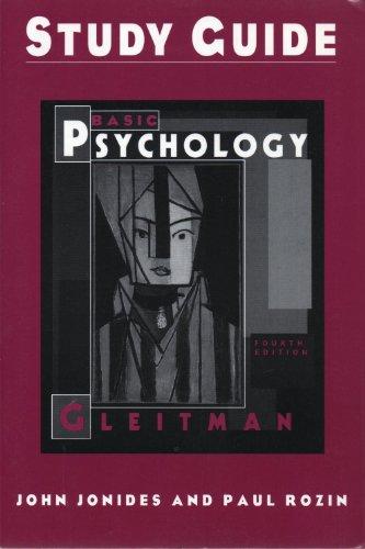 9780393969177: Basic Psychology: Study Guide