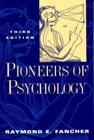 9780393969948: Pioneers of Psychology