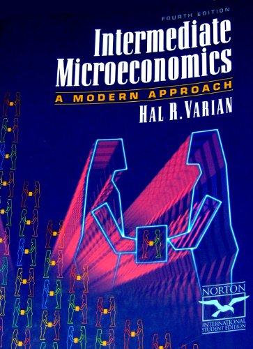 9780393969986: Intermediate Microeconomics: A Modern Approach (Norton international student edition)