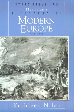 9780393970173: History of Modern Europe Volume 2: From the Age of Napoleon to the Present - Study Guide