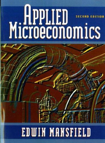 9780393970326: Applied Microeconomics (Second Edition)