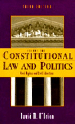9780393970463: Constitutional Law and Politics: Civil Rights and Civil Liberties (Vol 2)