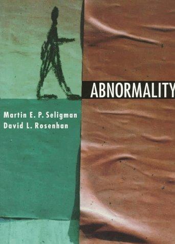 9780393970852: Abnormality
