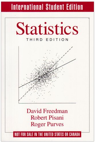 9780393971217: Statistics (Norton international student edition)