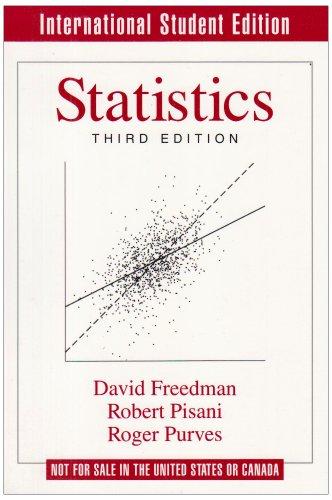 9780393971217: Statistics (Norton international student edition)