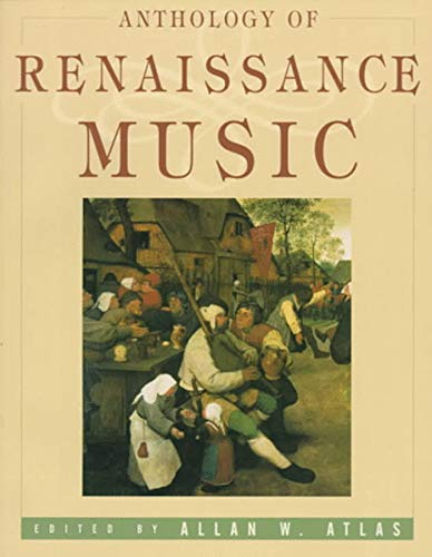 9780393971705: Anthology of Renaissance Music: Western Europe 1400-1600 (The Norton Introduction to Music History)