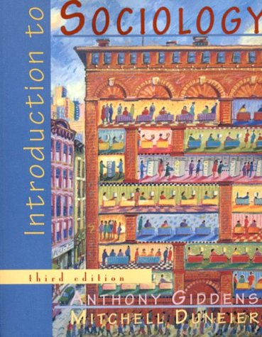 Introduction to Sociology: Anthony Giddens, Mitchell