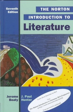 9780393972023: The Norton Introduction to Literature (Norton Introduction to Literature, 7th ed)