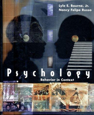 9780393972092: Psychology: Behavior in Context