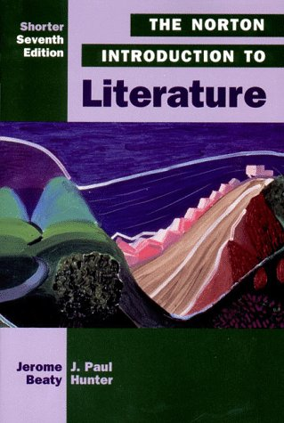9780393972221: The Norton Introduction to Literature