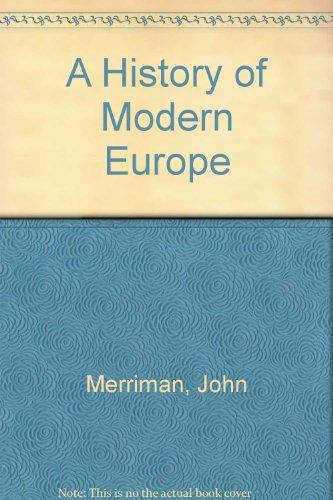 9780393972931: History of Modern Europe