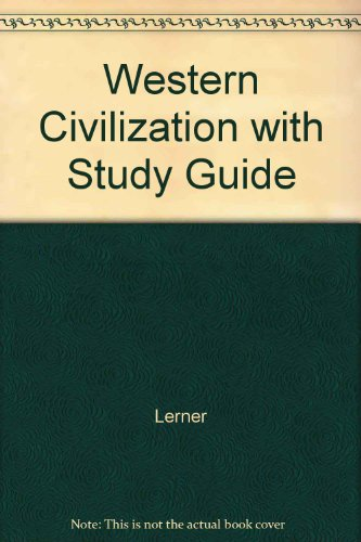 Western Civilization with Study Guide (0393973026) by Lerner