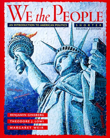 9780393973181: We the People: An Introduction to American Politics