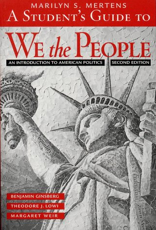9780393973211: We the People: An Introduction to American Politics