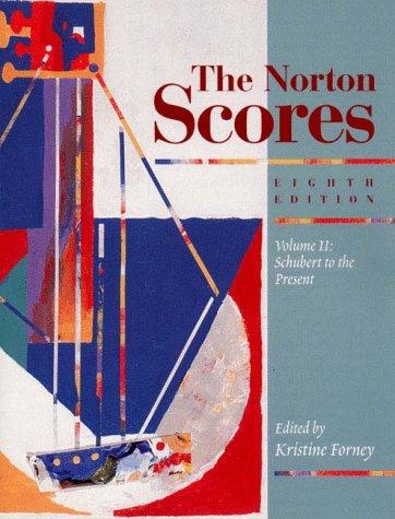 9780393973471: The Norton Scores: A Study Anthology