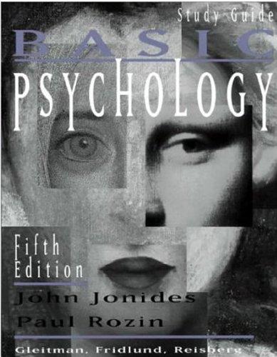 9780393973617: Basic Psychology