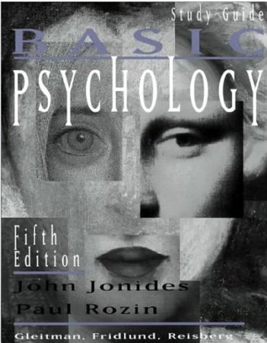 9780393973617: Study Guide: for Basic Psychology, Fifth Edition