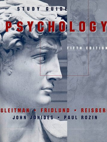 9780393973662: Psychology: Study Guide to 5r.e