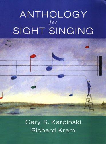 9780393973822: Anthology for Sight Singing
