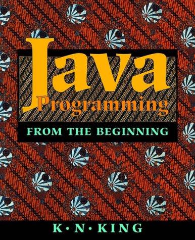 9780393974379: Java Programming: From the Beginning