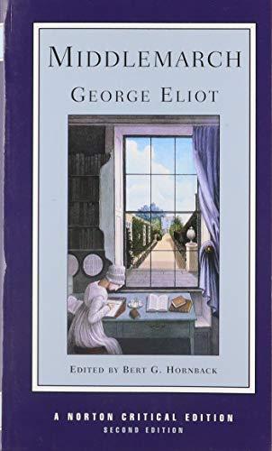 Middlemarch: George Eliot; Bert