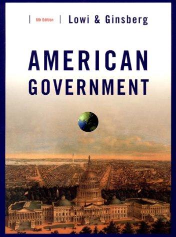 9780393974713: American Government