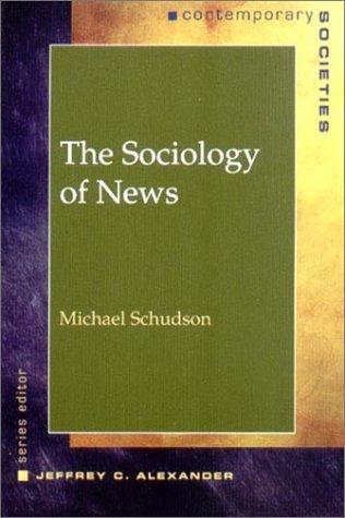 9780393975130: Sociology of News (Contemporary Sociology (New York, N.Y.).)