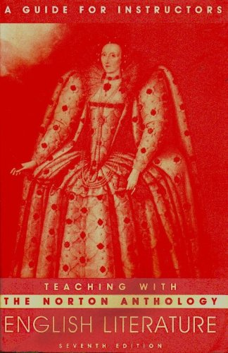 9780393975147: The Norton Anthology of English Literature Teaching with the Norton Anthology of English Literature, Seventh Edition