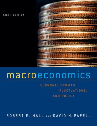 9780393975154: Macroeconomics: Economic Growth, Fluctuations, and Policy (Sixth Edition)