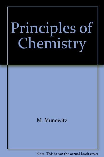 9780393975505: Principles of Chemistry: Supplementary Exercises
