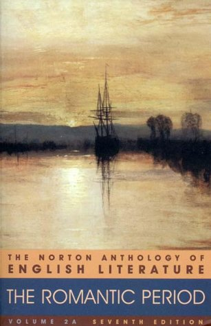 9780393975680: The Norton Anthology of English Literature, Vol. 2A: The Romantic Period