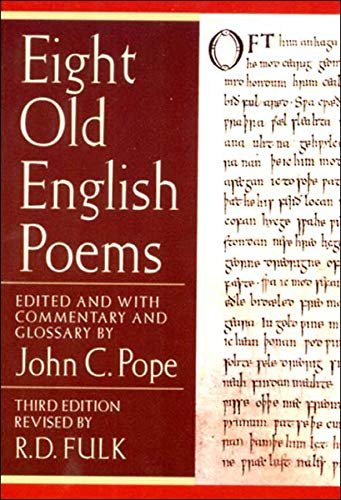 9780393976052: Eight Old English Poems