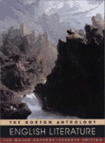 9780393976199: Norton Anthology of English Literature: The Major Authors