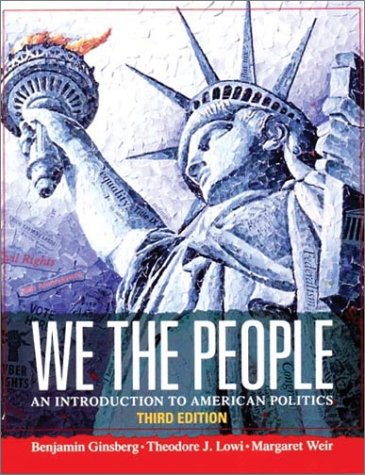 9780393976281: We the People: An Introduction to American Politics