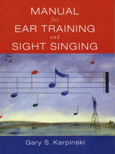 9780393976632: Manual for Ear Training and Sight Singing