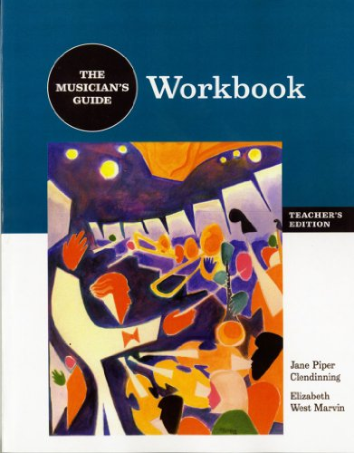 9780393976656: The Musician's Guide to Theory and Analysis: Workboook Answer Key